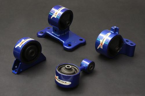 HARDRACE HARDENED ENGINE MOUNTS 4PC SET MITSUBISHI EVO 7-9 USDM 6MT 03-08