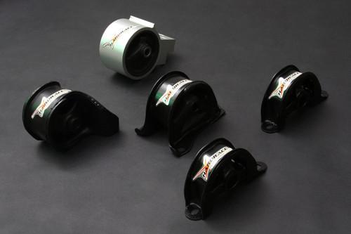 HARDRACE HARDENED ENGINE MOUNTS 5PC SET HONDA CIVIC EG AUTO B-SERIES D-SERIES 92-96