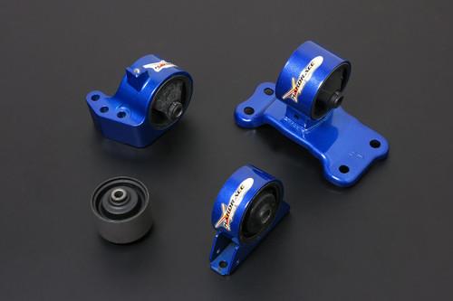 HARDRACE HARDENED ENGINES MOUNTS 4PC SET MITSUBISHI EVO 7-9 5MT 01-09