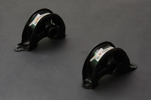 HARDRACE HARDENED FRONT LOWER ENGINE MOUNTS 2PC SET HONDA CIVIC EG EK INTEGRA DC2 B-SERIES D-SERIES 92-00