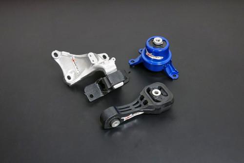HARDRACE RACE HARDENED ENGINE MOUNT 3PC SET HONDA FIT GK 14-
