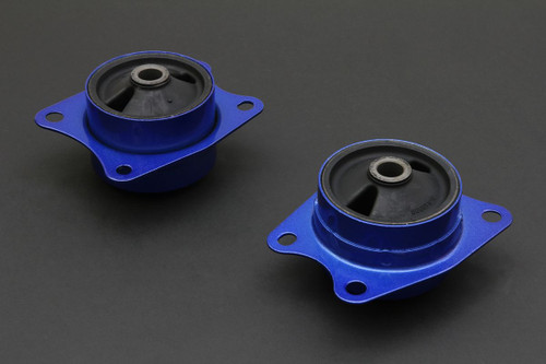 HARDRACE REINFORCED REAR SIDE DIFFERENTIAL MOUNT WITH HARDENED RUBBER BUSHES 2PC SET HONDA S2000 AP1 AP2 99-09