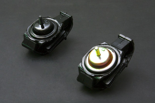 HARDRACE STREET SERIES HARDENED ENGINE MOUNT 2PC SET NISSAN 200SX S13 S14 SILVIA S15
