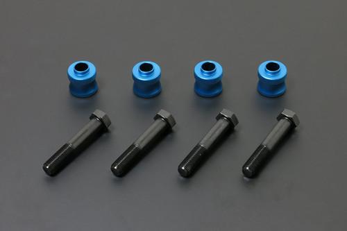 HARDRACE FRONT ROLL CENTRE ADJUSTERS +30MM 4PC SET LEXUS LS430 01-06