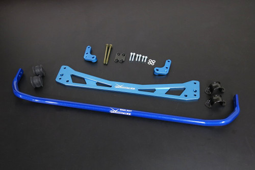 HARDRACE 25.4MM REAR ROLL BAR AND SUB FRAME BRACE 8PC SET HONDA CIVIC EK 96-00