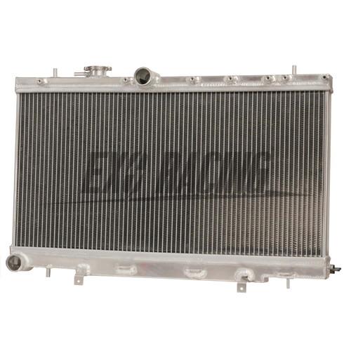 Exoracing 50mm 2 row aluminium radiator subaru impreza WRX STI GDB GD8 02-07