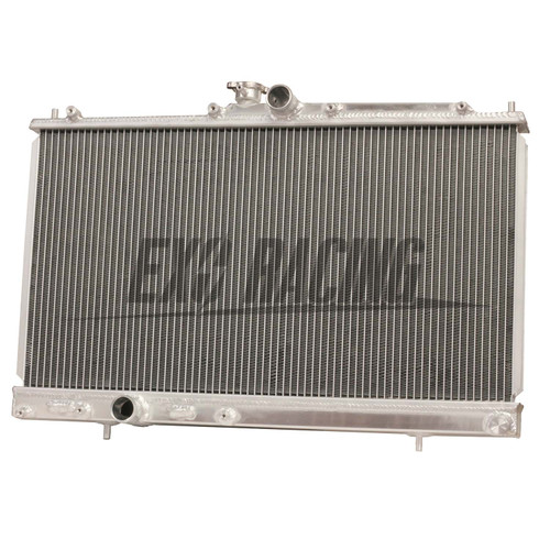 Exoracing Mitsubishi lancer evo 7 8 9 Aluminium radiator 42mm 2 row