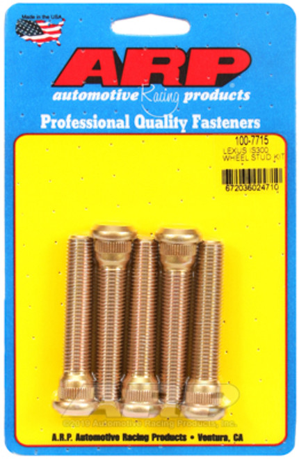 ARP EXTENDED WHEEL STUDS LEXUS IS300 5 PACK
