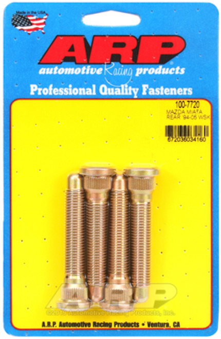 ARP EXTENDED WHEEL STUDS MAZDA MX5 94-05 NA NB REAR TYPE B 4 PACK