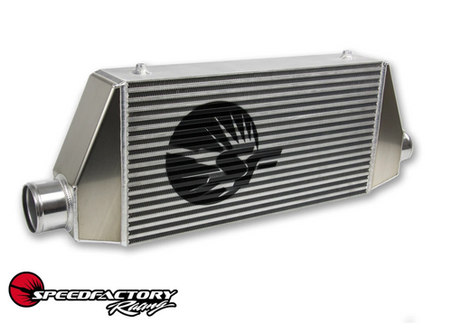 """SPEEDFACTORY RACING HPX (24X12X4.5) SIDE OUTLET/INLET INTERCOOLER 3"""" INLET AND 3.5"""" OUTLET - SS-1200HP"""