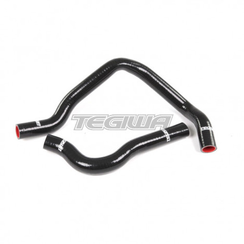 TEGIWA 2PC SILICONE COOLANT HOSE KIT HONDA CIVIC EG EK EK9 B16A2 B16B BLACK