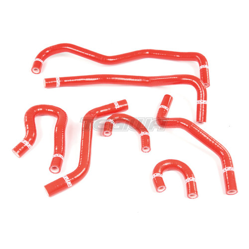 TEGIWA 7PC SILICONE COOLANT HOSE KIT HONDA INTEGRA TYPE R DC2 B18C B18C6 RED
