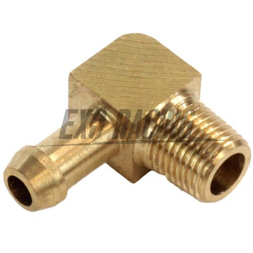 Exoracing Turbo 90degree Compressor Brass Boost Nipple Garrett T2 T25 T28 T3 T34