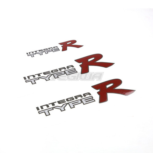TEGIWA OEM STYLE TYPE R STICKERS HONDA INTEGRA DC2 LIGHT COLOURS