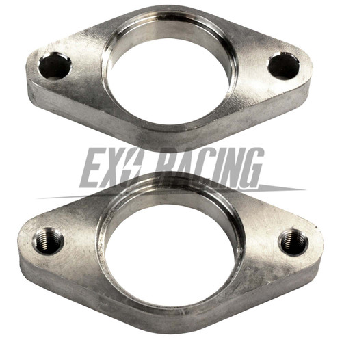 Exoracing 2 x 38mm wastegate stainless steel flanges weld on