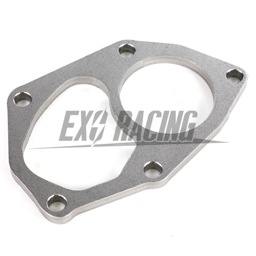 Exoracing Mitsubishi evo 4-9 4g63 Turbo Stainless Turbo downpipe Flange
