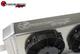 SPEEDFACTORY RACING TUCKED RADIATOR B-SERIES W/ -16AN - RADIATOR WITH SHROUD/FAN KIT