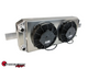 SPEEDFACTORY RACING TUCKED RADIATOR D SERIES W/ -16AN - RADIATOR WITH SHROUD/FAN KIT