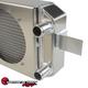 SPEEDFACTORY RACING TUCKED RADIATOR K SERIES W/ -16AN - RADIATOR WITH SHROUD/FAN KIT