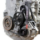 Exoracing Black K20 / k24 Alternator relocation kit (A/C P/S delete)