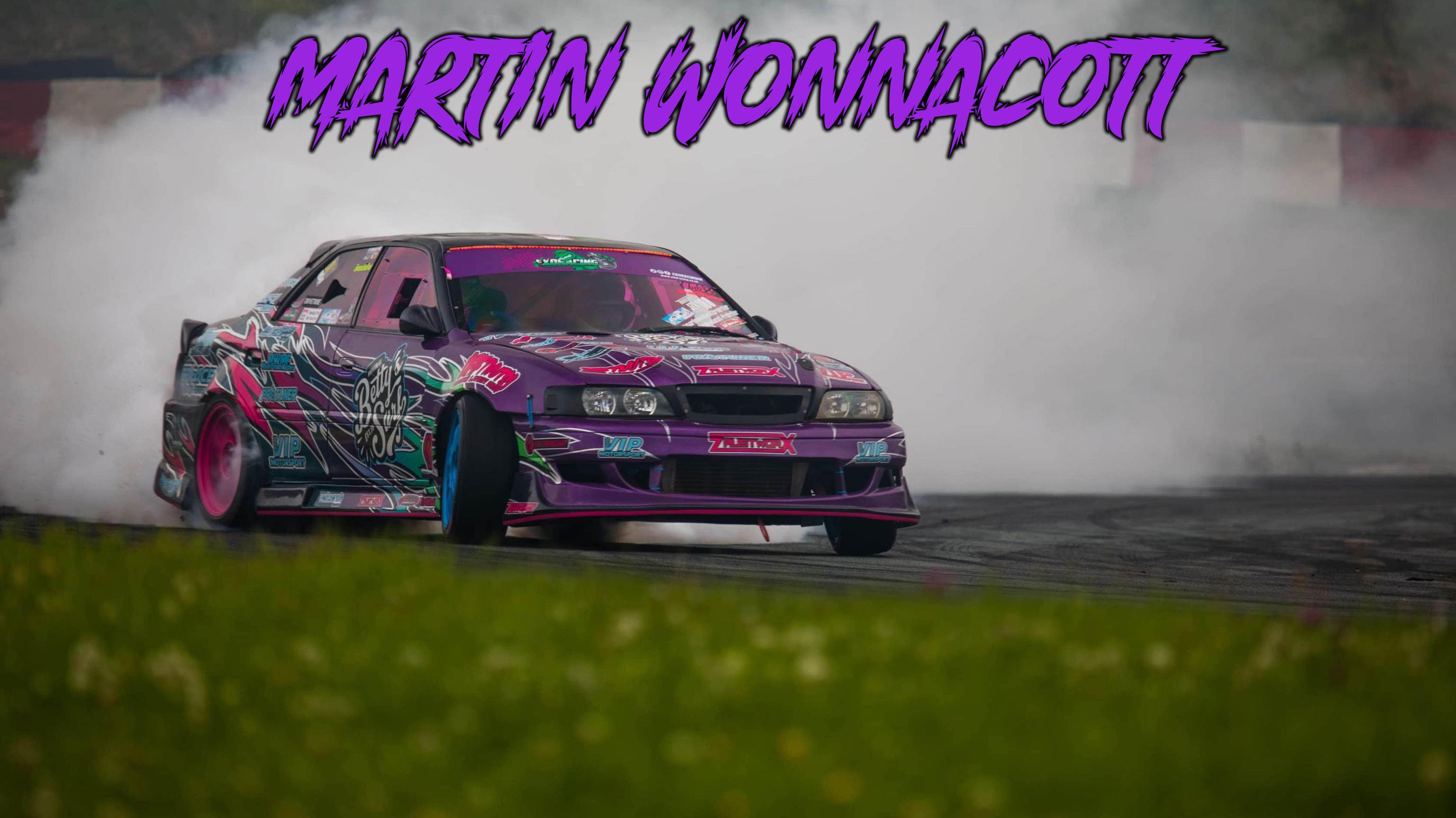 Martin Wonnacott Toyota chaser