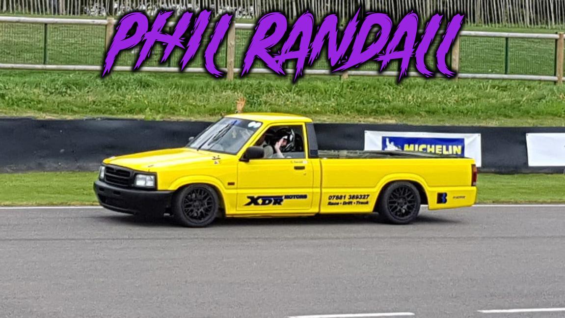 Phil randall mazda bs500 drift truck