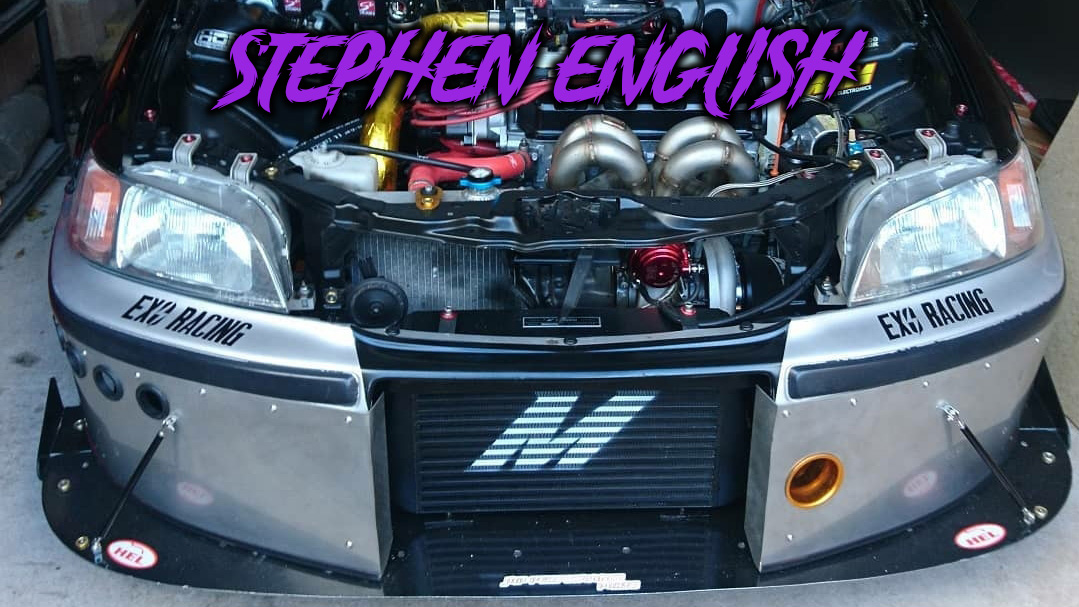 stephen english turbo mb2 drag car