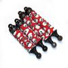 Red Skull shock boots mounted on the Kraken Vekta shocks!