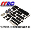 Kraken Vekta Pit box includes spare hardware and bearings to get you out of jam and back to having fun!