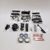 Kraken Vekta Pit box comes with a variety of hardware that you will need including spare wheel bearings!