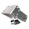 """Aluminum skid plate for your Kraken Vekta.  This is the long version which bolts to all four lower mounting points as well as the two new holes you have to drill in the plastic skid plate.  T6 6061 Aluminum a full 1/8"""" thick!"""