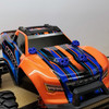 Traxxas MAXX 3D Printed Body washers in Blue!