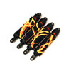 Traxxas MAXX 4S Lightning Orange shock boots.  Pack of 4