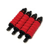 Traxxas MAXX 4S Solid Red shock boots.  Pack of 4