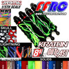 Fullforce RC Shock boots for the Arrma Kraton 8S 5th scale beast now shipping.  Available in our full line of colors they come in pa package of four and help protect your shock seals and prolong the life of your expensive shocks.
