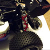 HPI Baja shock boots will fit the Baja 5B, 5T and 5SC trucks!  Just cut them to lenght.