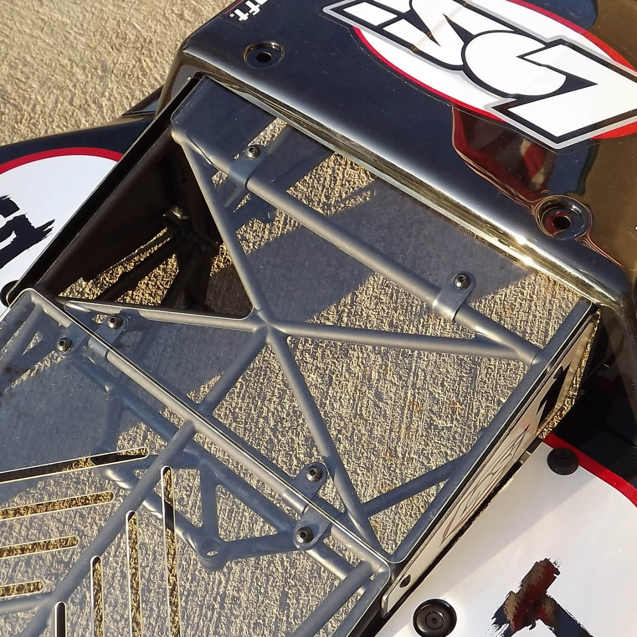 CNC laser cut for a precise fit onto the stock 5ive-T rollcage using simple installation.