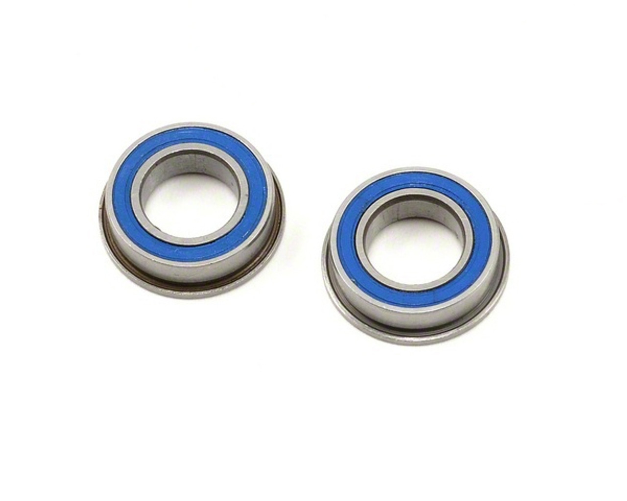 Bearings Metric Series 3x6x2.5 MM Flanged rubber sealed (2 Pack) (MF63 2RS)