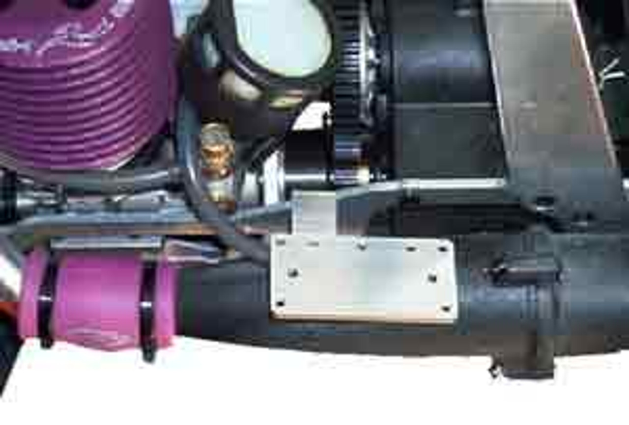 The bracket offers multiple mounting positions.