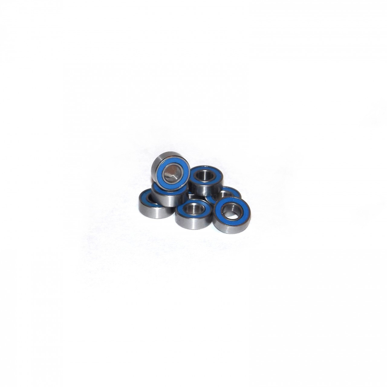 Traxxas Electric Rustler / Stampede 8 Piece wheel bearing kit.   Can be used on all Electric Rustler and Stampede trucks!