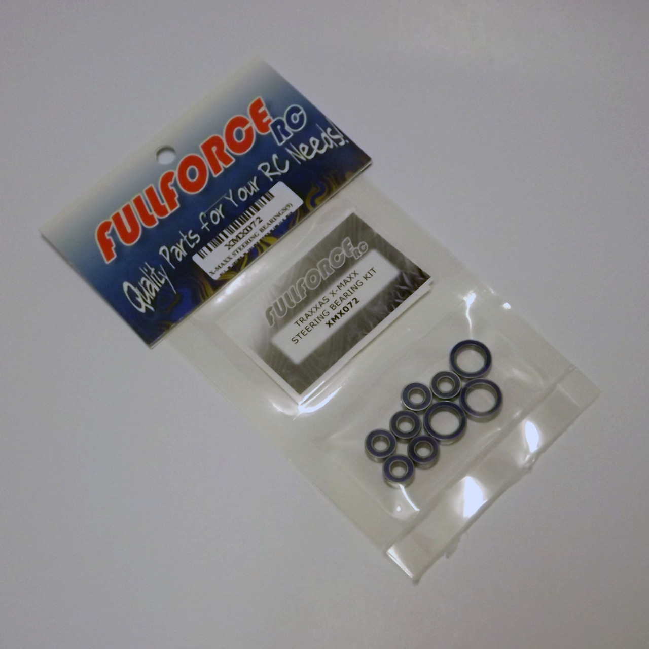 Traxxas X-MAXX 9 pc Steering bearing kit packed and ready to ship!