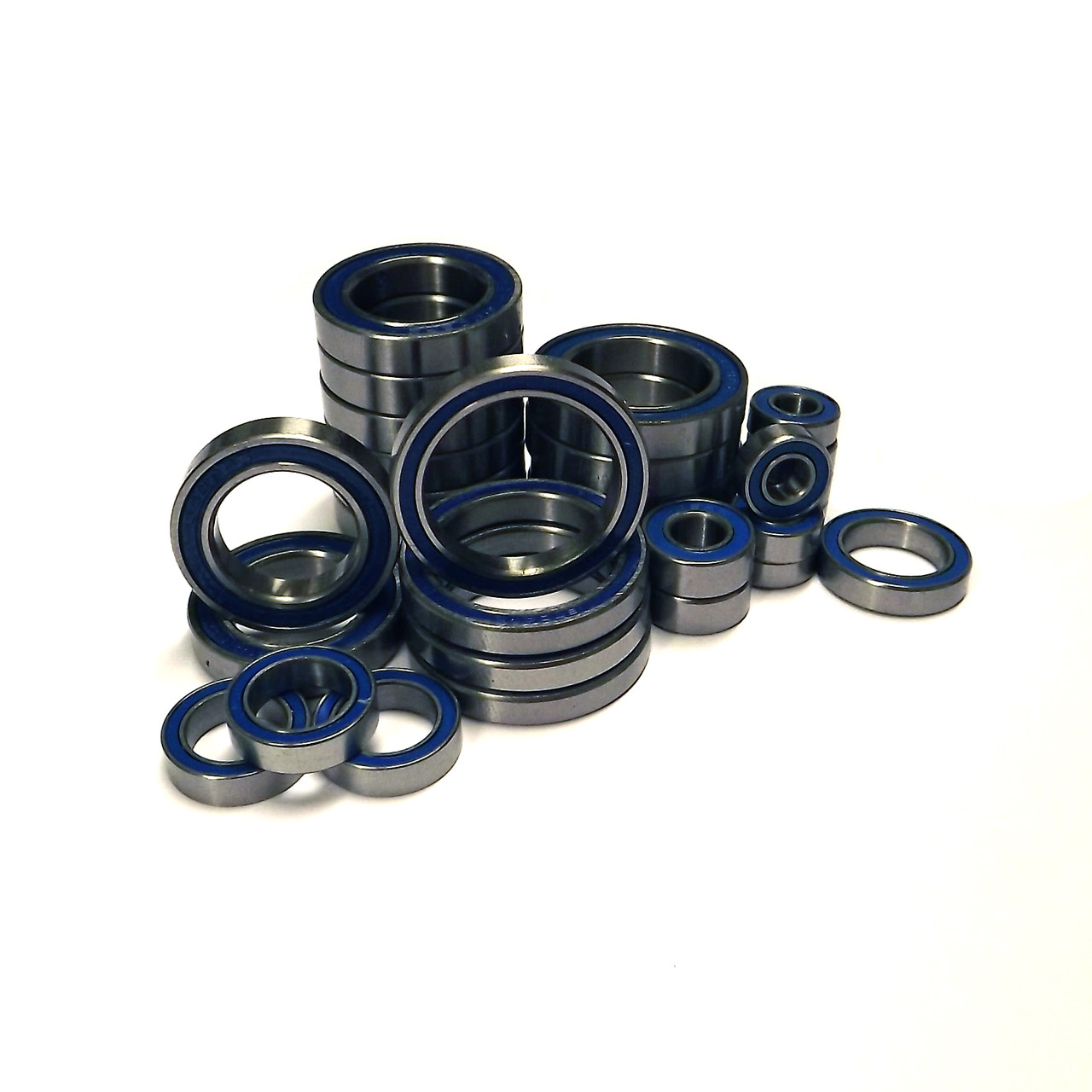 TRAXXAS X-MAXX 8S or 6S complete rubber sealed bearing kit.  Comes with a full 35 pieces and replaces all bearings on your truck.