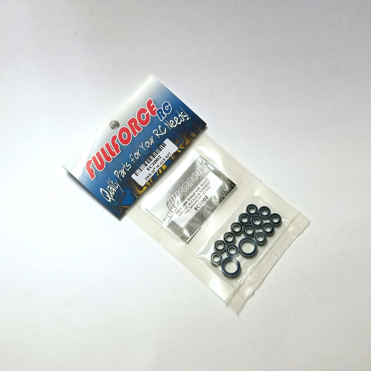 ECX 2WD 10th Scale full bearing kits packed and ready to ship!