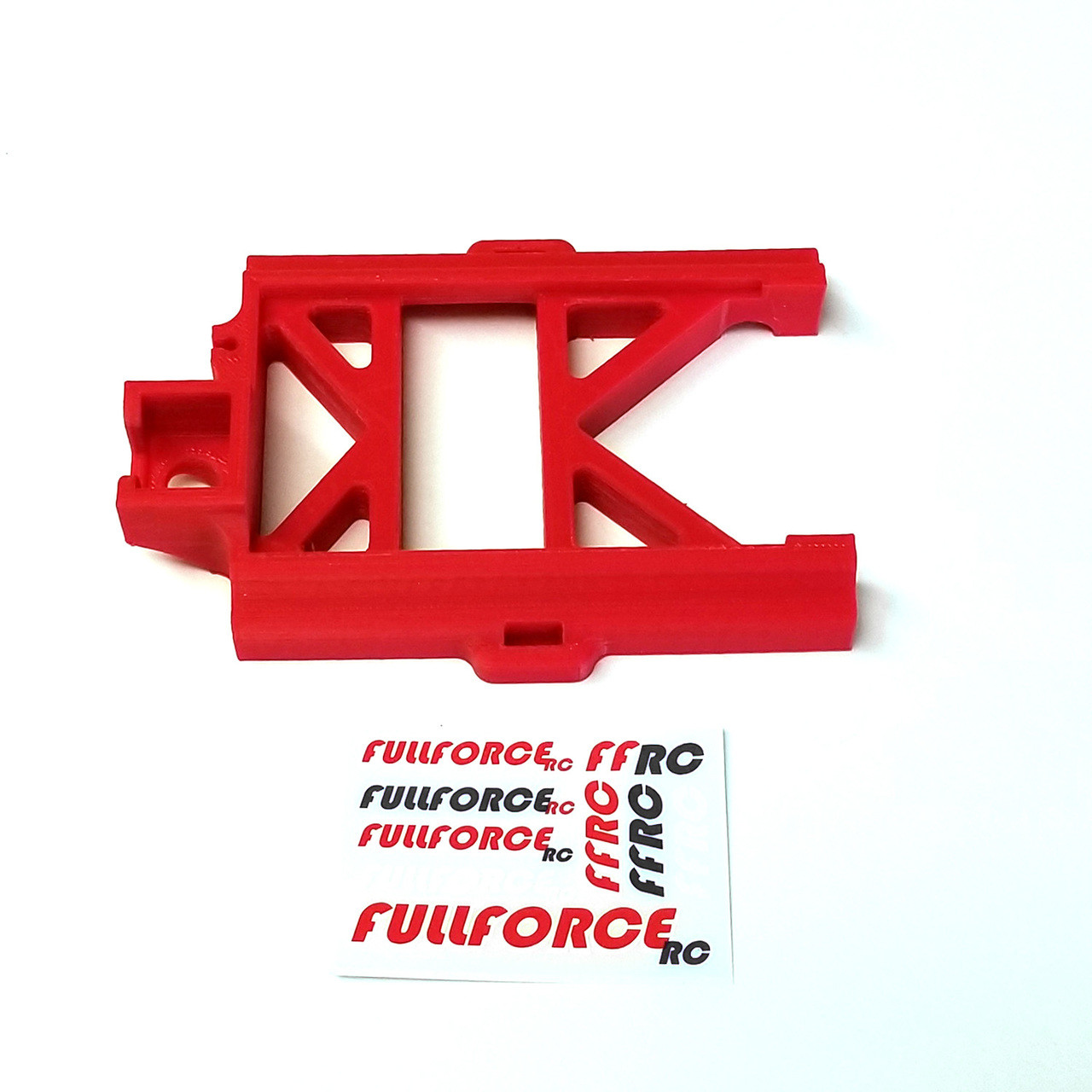 Red MAX5 speed control mount for your Traxxas X-MAXX.