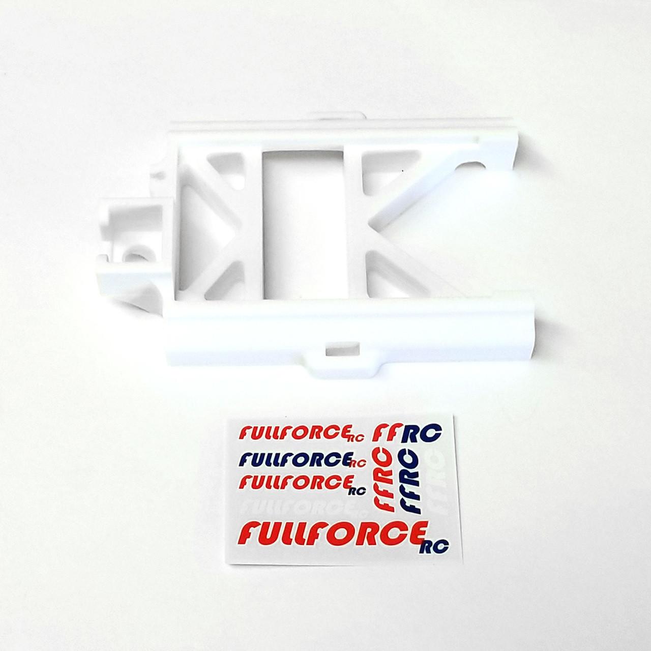 White MAX5 speed control mount for your Traxxas X-MAXX.