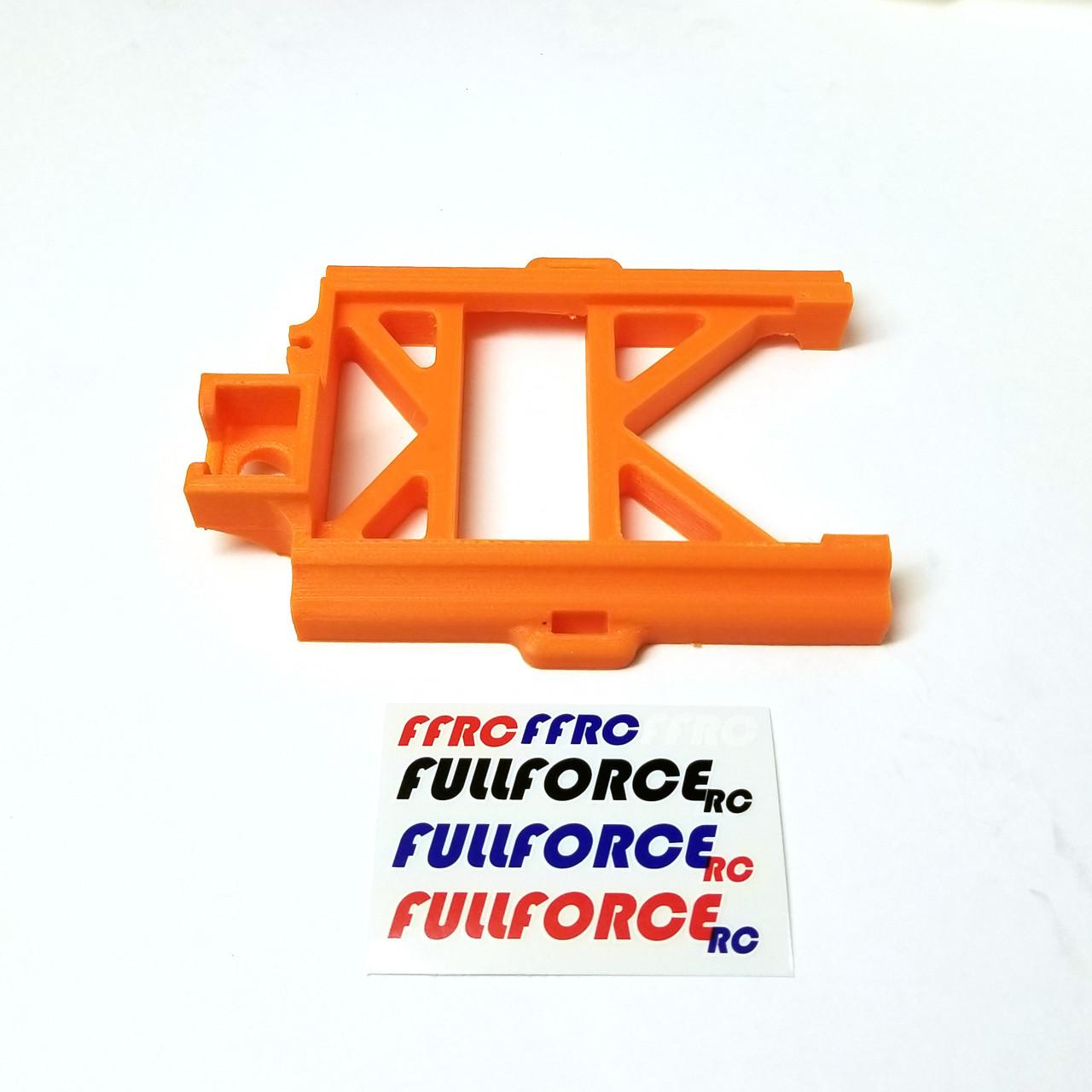 Orange MAX5 speed control mount for your Traxxas X-MAXX.