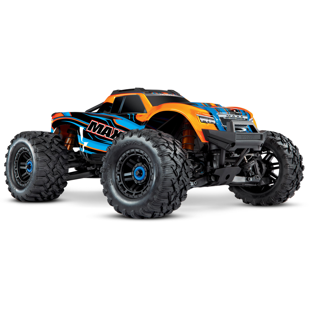 Compatible with the new 10th Scale Traxxas MAXX 4S stock body.
