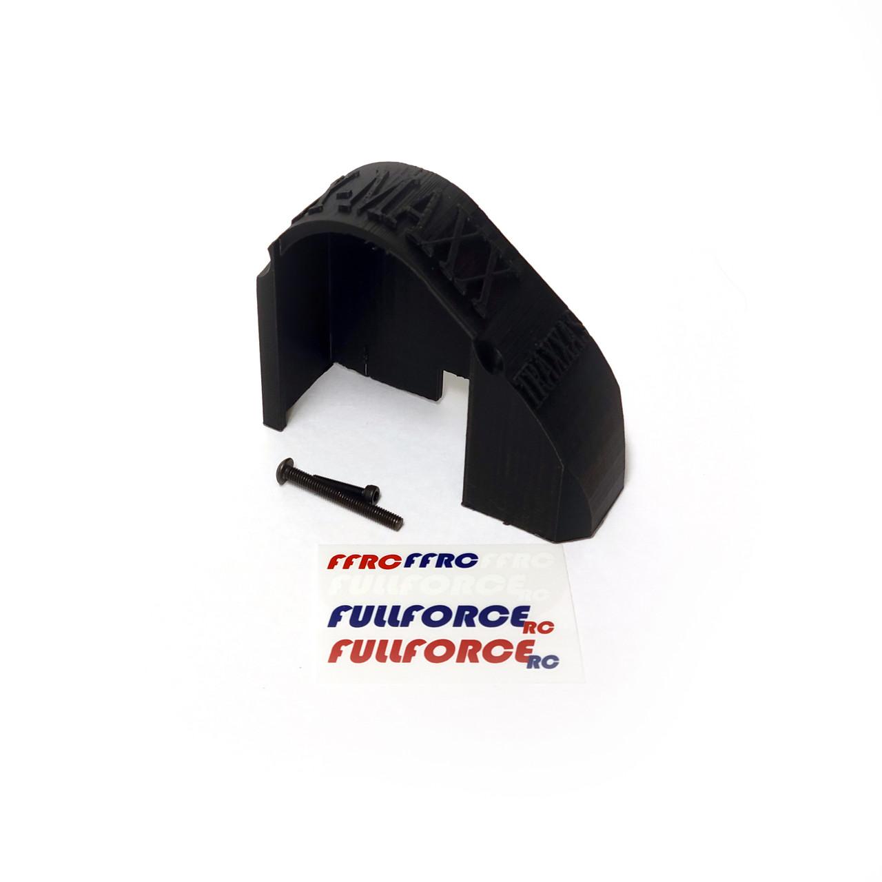 Traxxas X-MAXX Mod Gear Cover in Black ABS