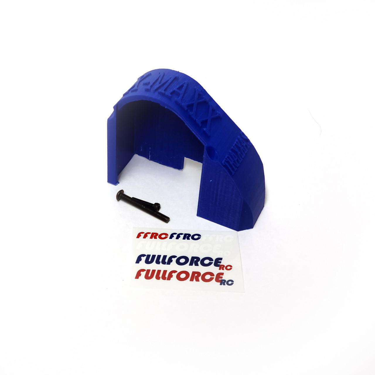 Traxxas X-MAXX Mod Gear Cover in Blue ABS