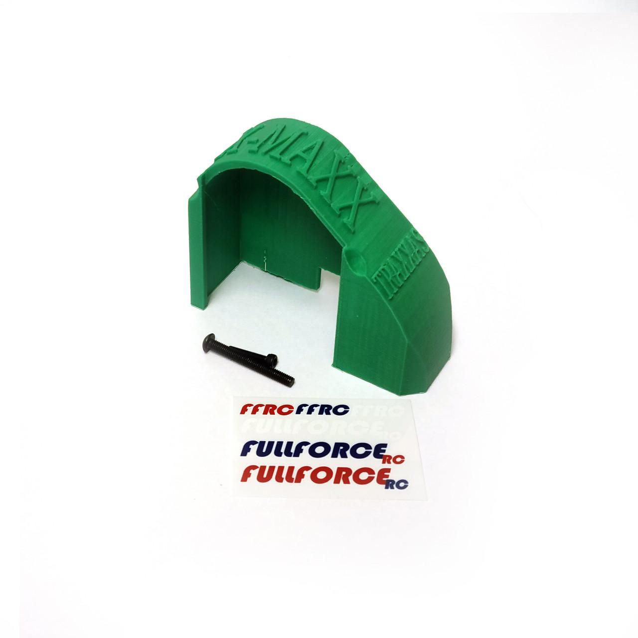 Traxxas X-MAXX Mod Gear Cover in Green ABS